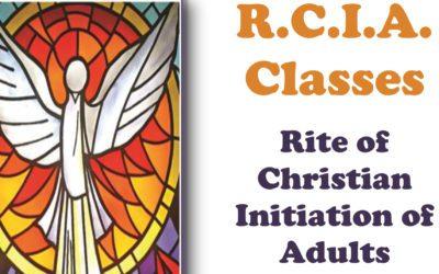RCIA Starts Sept. 13